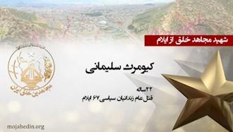 مجاهد شهید کیومرث سلیمانی