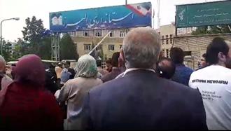 تجمع اعتراضی غارت شدگان توسعه البرز  در کرج
