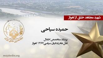 مجاهد شهید حمیده سیاحی