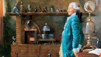لاووازیه شیمیدان معروف فرانسوی