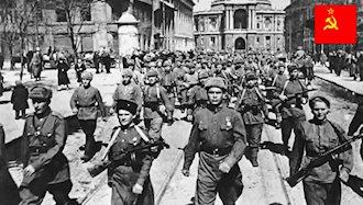 ارتش سرخ شوروی به رومانی واردشد