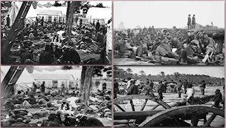 جنگهای داخلی درآمریکا پایان یافت