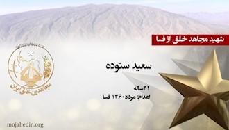 مجاهد شهید سعید ستوده