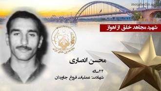 مجاهد شهید محسن انصاری
