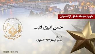 مجاهد شهید حسن اکبری ادیب