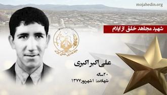 مجاهد شهید علیاکبر اکبری