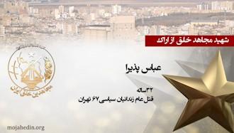 مجاهد شهید عباس پذیرا