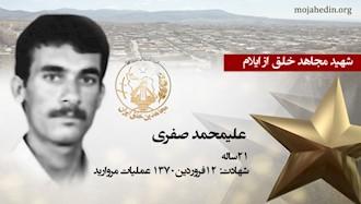 مجاهد شهید علیمحمد صفری