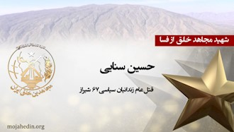 مجاهد شهید حسین سنایی