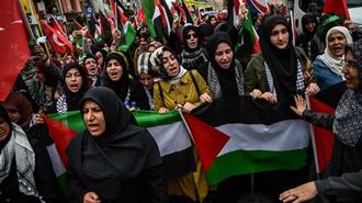 تظاهرات مردم فلسطین در اعتراض به افتتاح سفارت آمریکا در بیتالمقدس