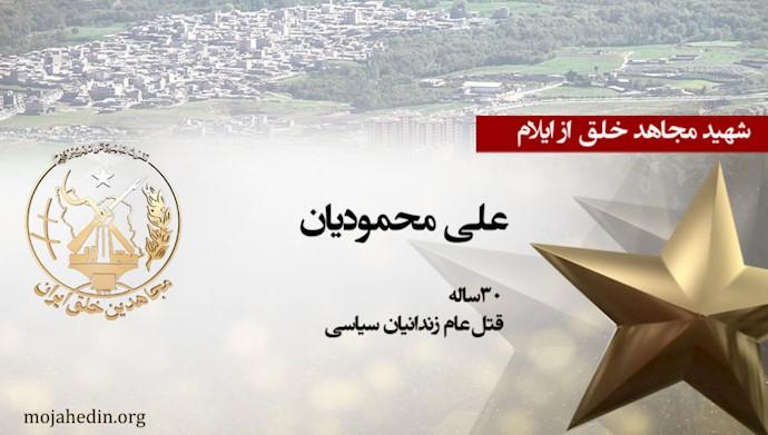 مجاهد شهید علی محمودیان