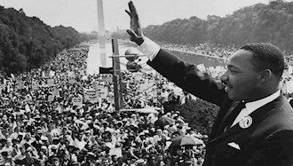 مارتین لوترکینگ رهبر سیاهپوستان آمریکا ترور شد