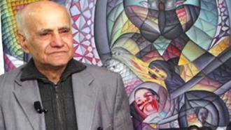 استاد بهرام عالیوندی، هنرمند مقاومت و از پیشکسوتان نقاشی مدرن ایران