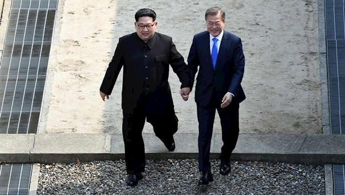 دیدار رهبران کره شمالی و کره جنوبی