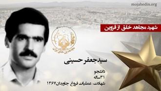 مجاهد شهید سیدجعفر حسینی