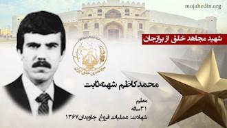 مجاهد شهید محمدکاظم شهنهثابت