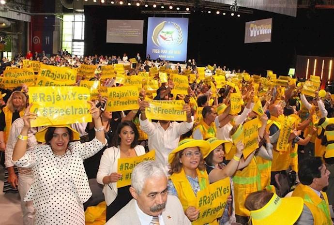 برنامه ۱۰مادهای ـ گردهمایی بزرگ مقاومت ایران در پاریس، ۱۰تیر۹۶