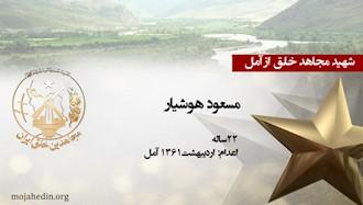 مجاهد شهید مسعود هوشیار