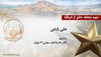 مجاهد شهید علی زارعی