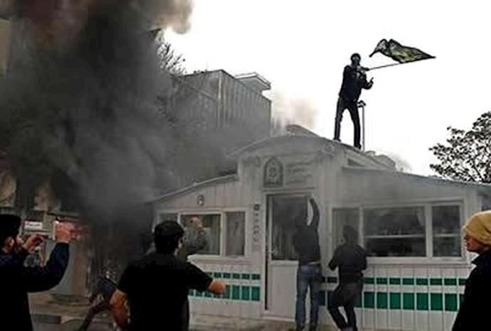صحنهیی از قیام ۸۸تهران