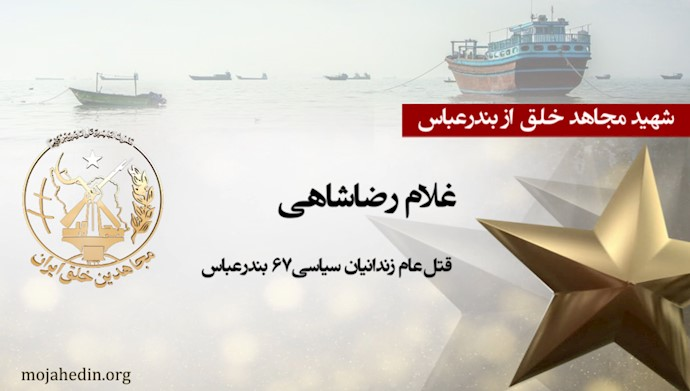مجاهد شهید غلام رضاشاهی
