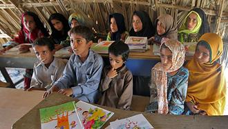 دبستان کپری در استان سیستان و بلوچستان