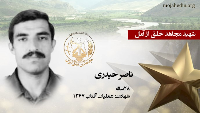 مجاهد شهید ناصر حیدری