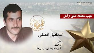مجاهد شهید اسماعیل افضلی