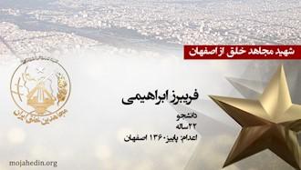 مجاهد شهید فریبرز ابراهیمی