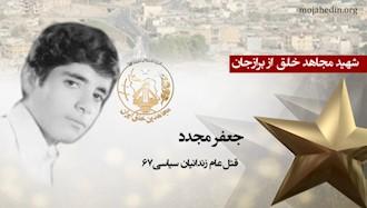مجاهد شهید جعفر مجدد