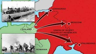 تهاجم نیروهای هیتلر به شوروی