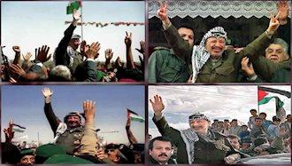 بازگشت عرفات به فلسطین