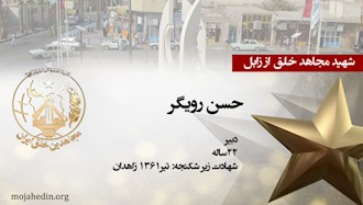 مجاهد شهید حسن رویگر
