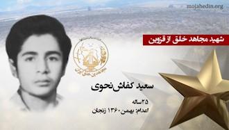 مجاهد شهید سعید کفاشنحوی