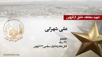 مجاهد شهید علی شهرکی