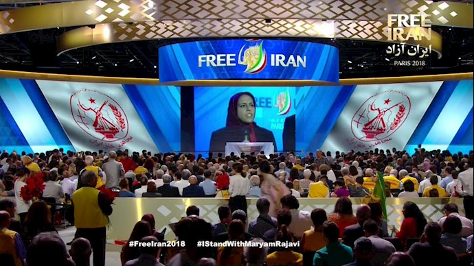 اشرف سه - نسرین مسیح از معاو نان مسئول اول سازمان مجاهدین خلق ایران