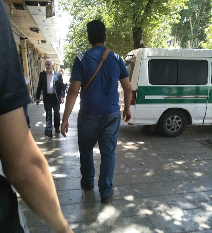 اعتصاب بازار تهران - حضور نیروهای سرکوبگر برای ممانعت از تظاهرات در تهران - پامنار. - ۶تیر۹۷