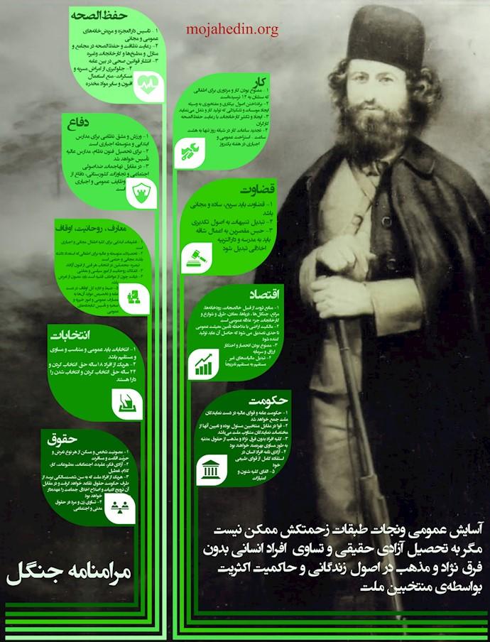 مرامنامه جنگل - میرزا کوچک خان