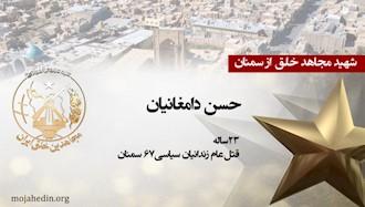 مجاهد شهید حسن دامغانیان