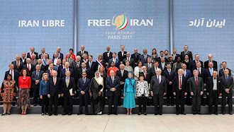 مریم رجوی در جمع شخصیتها و پارلمانترهای خارجی
