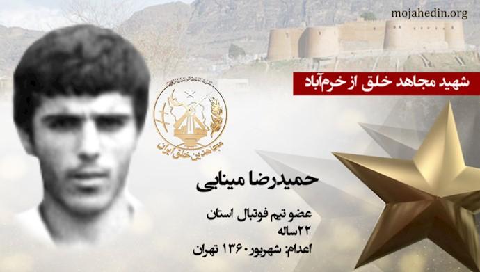مجاهد شهید حمیدرضا مینایی