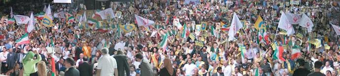 گردهمایی بزرگ مقاومت پاریس ۱۰تیر ۱۳۸۵