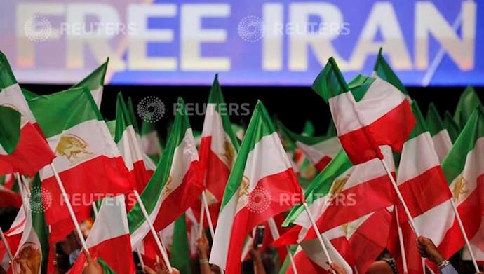 تصاویری از خبرگزاری رویتر از همایش بزرگ مقاومت ایران در پاریس - ۹تیر۹۷