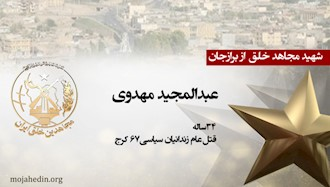 مجاهد شهید عبدالمجید مهدوی