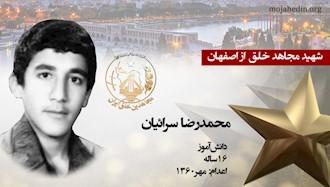 مجاهد شهید محمدرضا سرائیان