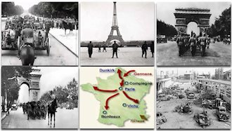 شکست فرانسه از ارتش هیتلر