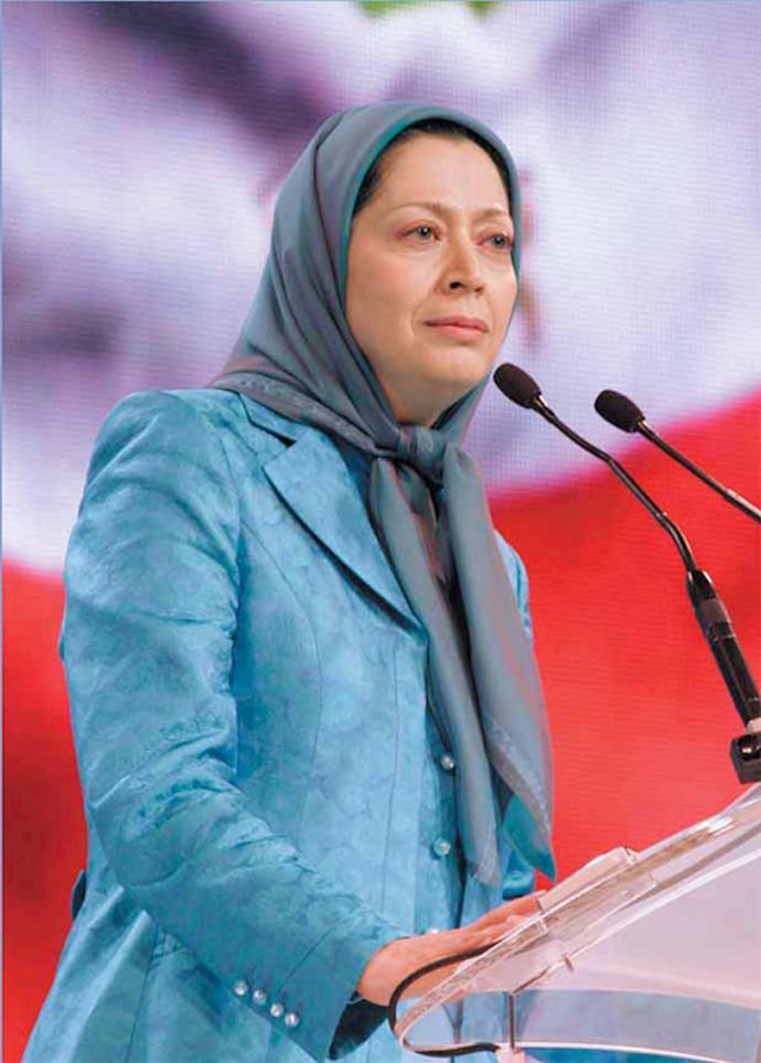 مریم رجوی - سخنرانی در گردهمایی بزرگ مقاومت ایران - ۹تیر ۱۳۸۶