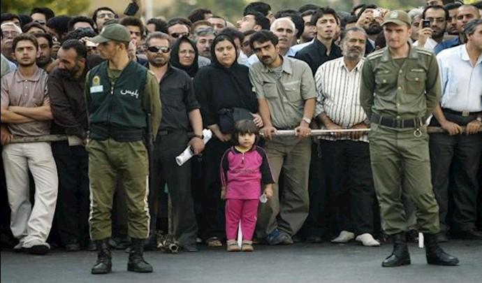 لغو مجازات اعدام ـ اجرای اعدام در حضور کودکان در ایران