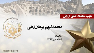 مجاهد شهید محمدکریم برهانزهی