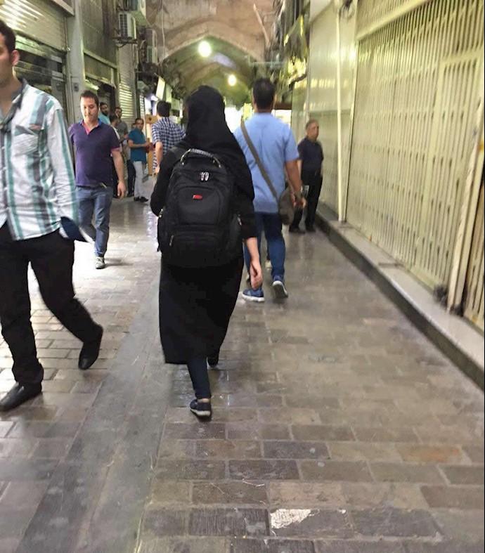 اعتصاب باراز تهران -راسته طلا فروشها ۶تیر۹۷